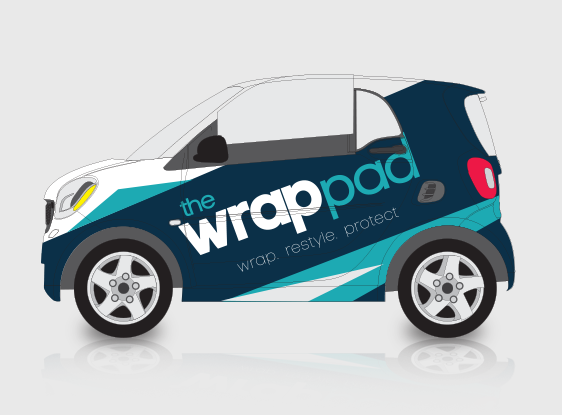Get your business noticed with a vehicle wrap