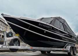 Aluminum Boat Wrap Thunder Car