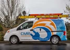 CMR Electric Van Wrap