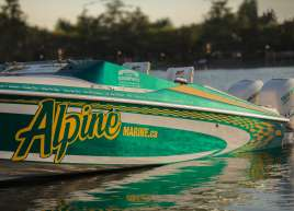 Alpine Boat Wrap