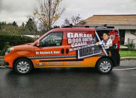 Garage Door Doctor Van Wrap