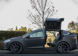 Tesla Model X Matte Black Wrap