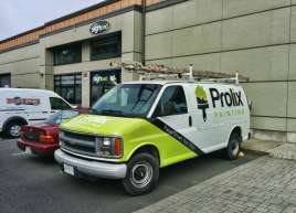 Prolix Painting Van Wrap