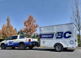 BC Hockey Truck & Trailer Wrap