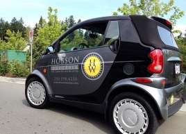 Hobson Woodworks Smart Car Graphics