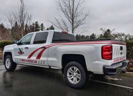 Colwood Fire Truck Stripe Graphic
