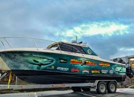 Hindsight Fishing Boat Wrap