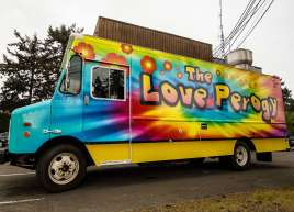 Love Perogy Food Truck Wrap