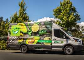 Thrifty Food Van Wrap
