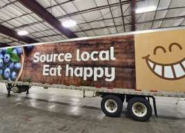 Thrifty Foods Tractor Trailer Wrap