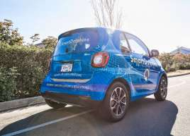 Smart Dophins Smart Car Wrap