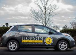 Hobson Woodworks Car Graphics