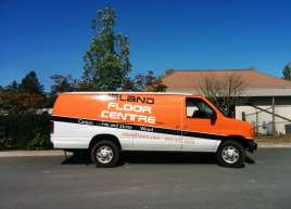 Island Floors Centre Van Wrap