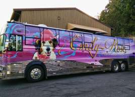 Emily Rose Movie Bus Wrap