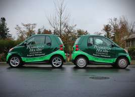 Pemberton Holmes Smart Car Wrap