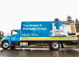 Monk Office Van Wrap
