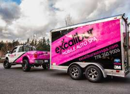 Excalibur Trailer Wrap