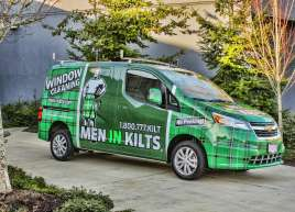 Men In Kilts Van Wrap