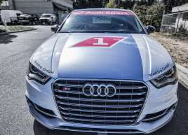 AudiS3 Race Car Wrap