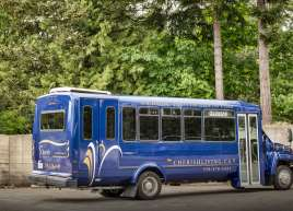 Cherish Bush Bus Wrap