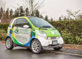 Rothwell Wilson Smart Car Wrap