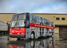 H&M Bus Wrap
