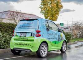 Ride The Glide Smart Car Wrap