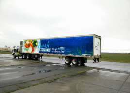Thrifty Foods Trailer Wrap