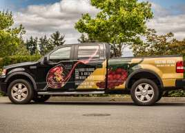Enrico Winery Truck Wrap