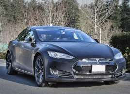 Tesla Model S Brushed Wrap