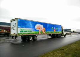 Thrifty Foods Fleet Wrap