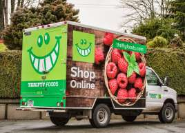 Thrifty Foods Cube Van Wrap