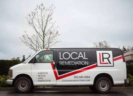 Local Remediation Partial Van Wrap