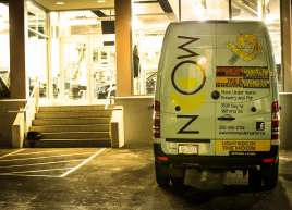 Moon Under Water Sprinter Van Wrap