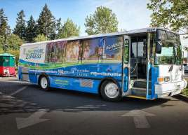 Westshore Express Bus Wrap