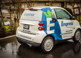 Empress Painting Smart Car Wrap
