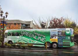 Langford Greenline Bus Wrap