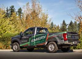 Emery Electric Truck Wrap