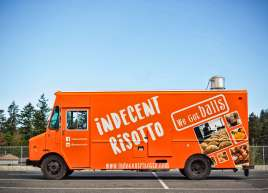 Indecent Risotto Food Truck Wrap