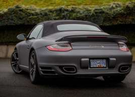 Porsche 911 Turbo S Matte Metallic Wrap