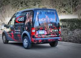 Fuel Supplements Van Wrap