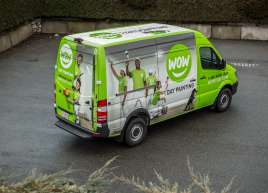 WOW 1 Day Van Wrap
