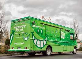 Thrifty Foods Smile Truck Wrap