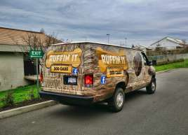 Ruffin It Dog Care Van Wrap