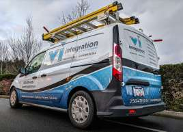 Island Integration Van Wrap