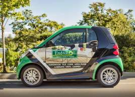 End of the Roll Smart Car Wrap