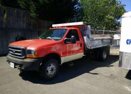 Red Door Truck Wrap