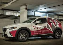 Wise Financial Mazda Wrap