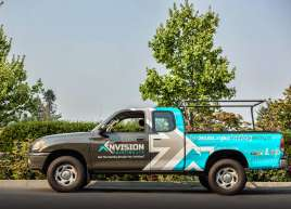 Envision Painting Truck Wrap