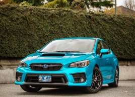 Subaru WRX Atlantis Blue Wrap